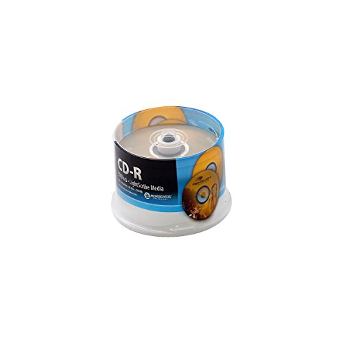 Microboards LightScribe Recordable/Printable CD-R 52X by MicroBoards Technology