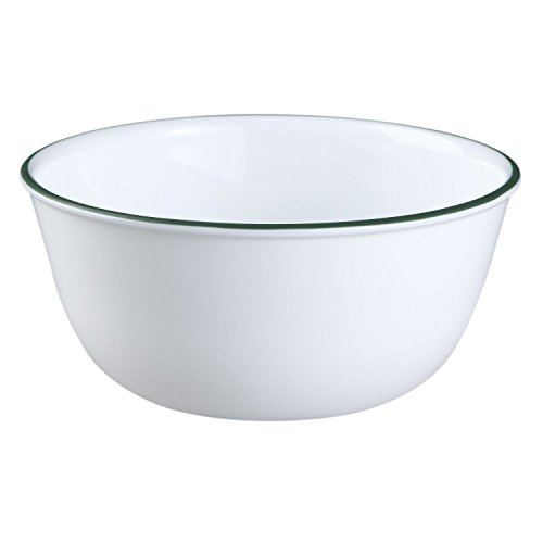 Corelle Livingware 28-Ounce Super Soup/Cereal Bowl, Callaway (Set of 6) by  	 Corelle