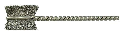 Weiler Brush 1/2'' Steel Single Spiral Tube Brush, Wire Dia. 0.003'', Shank Size 0.094'', EA 1 - 21020 ( Pack of 5 )