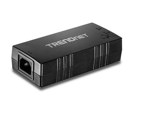 TRENDnet Gigabit Power over Ethernet Plus (PoE+) Injector,Converts non-PoE Gigabit to PoE+ or PoE Gigabit, Network Distances up to 100 M (328 Ft.), TPE-115GI