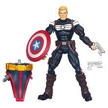 Marvel Legends 2012 Series 1 Action Figure Steve Rogers Terrax BuildAFigure Piece