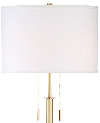 Cheap Possini Euro Encino Antique Brass Tripod Floor Lamp Review