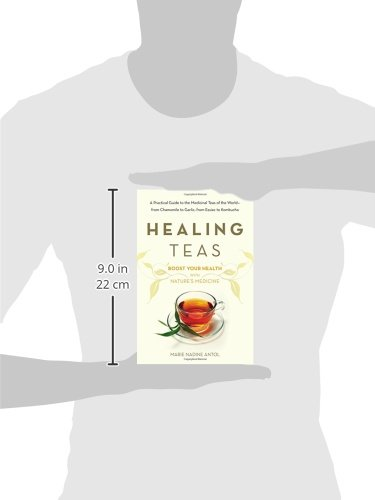 Healing Teas: A Practical Guide to the Medicinal Teas of the World -- from Chamomile to Garlic, from Essiac to Kombucha 2 A complete guide to medicinal teas from around the world and their amazing healing powers For thousands of years, cultures throughout the world have known the healing power of teas.  Tea has been used as a holistic treatment for a host of illnesses, from arthritis to migraines, and is a time-tested all natural path to overall health and wellness. Healing Teas is a complete, easy-to-follow and informative guide, blending together proper methods of preparing teas with the latest scientific research into their homeopathic qualities. Healing Teas also provides a unique A-Z guide to herbs, individual brews, and home remedies. From essiac to kombucha, chamomile to garlic, learn to prepare teas from around the world—and maximize your health.
