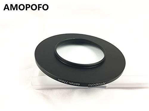 Universal 46-77mm /46mm to 77mm Step Up Ring Filter Adapter for UV,ND,CPL,Metal Step Up Ring