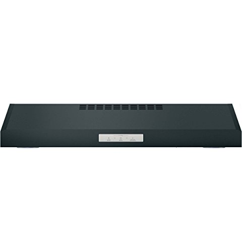 GE Appliances PVX7300FJDS Black Slate Series 30 Inch Under Cabinet Convertible Hood Black Slate