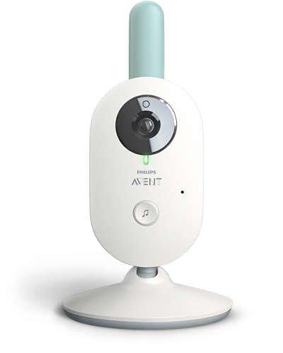 Philips AVENT Baby monitor SCD620//26 Vigilabeb/é FHSS, Corriente alterna, Bater/ía, Color blanco, Digital, 50//60 Hz - importado