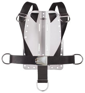 Storm Accessories Aluminum Back Plate with Harness & Crotch Strap for Technical Scuba Divers by Storm Accessories (Image #3)