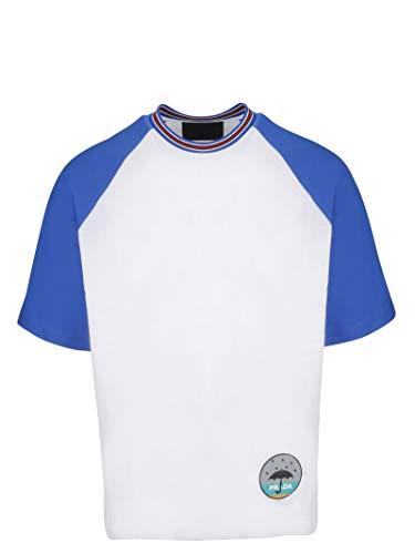 (Prada Men's Ujn5421ta6f0p41 White Cotton T-Shirt)