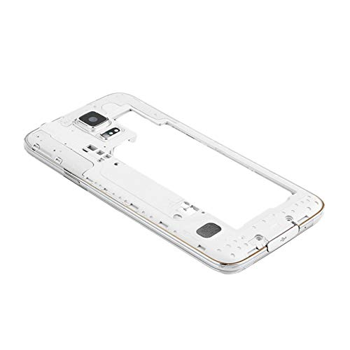 - Liobaba Back Plate Rear Cover Middle Frame Bezel Camera Panel Housing Replacement with Audio Jack&Camera Lens&Speaker for Samsung Galaxy S5 V G900FD Duos Dual SIM