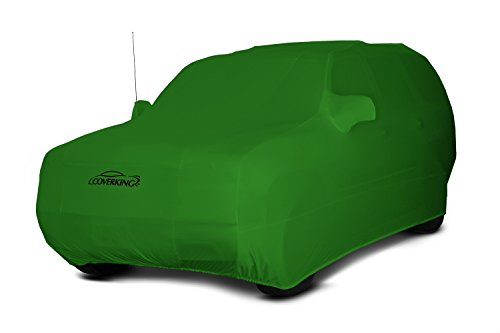 Coverking Custom Car Cover for Select Toyota Land Cruiser Models - Satin Stretch (Synergy Green)