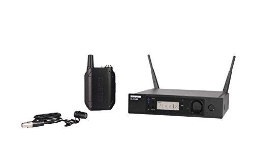 Shure GLXD14R/85-Z2 Lavalier Wireless Microphone System With - Mic 16 Splitter Channel