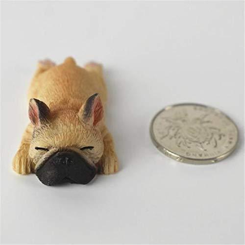 Cute Resin Sleeping French Bulldog Ornament Creative Dog