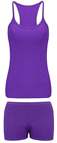 80s Purple Vest - 7