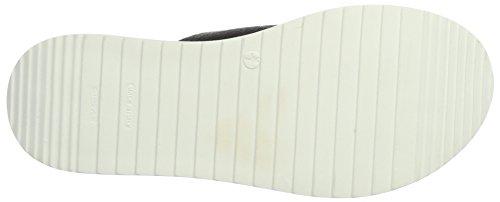 10 Schwarz 49389 Pantolette Schwarz Schnallen Damen 21 Bianco Pantoletten 8wFRqR