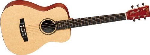 Martin X Series 2015 LXME Little Martin Acoustic-Electric Guitar Natural by C.F. Martin & Co.