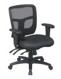 Office Star ProGrid Back Managers Chair with 2-Way Adjustabl