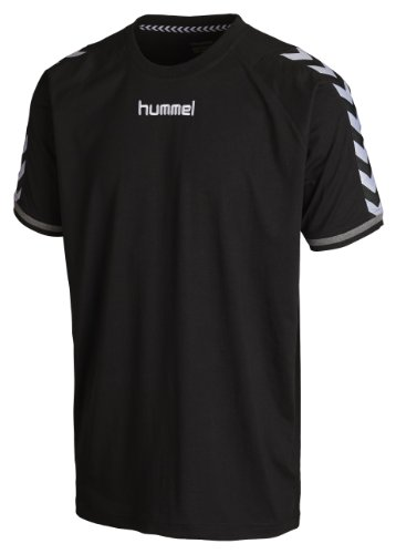 Hummel Herren T-Shirt Stay Authentic, black, M, 08-909-2001