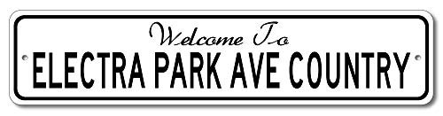 Buick Electra Park Avenue - Welcome to Car Country Sign - Aluminum 4