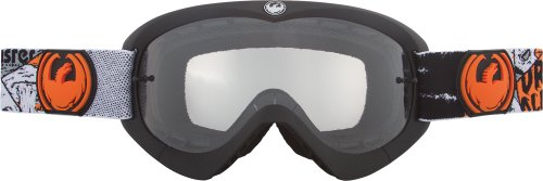 Dragon Alliance Youth MX Goggles - One size fits most/Spooky/Clear AFT (Dragon Mx Goggles)