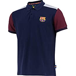 Fc Barcelone Polo Barça - Collection Officielle Taille Adulte