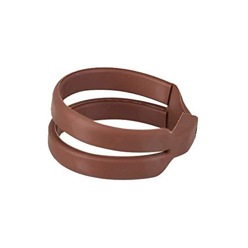 Whirl-a-Style BunMaker Jumbo Medium for Medium-Length Hair (Copper)