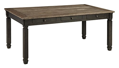 Ashley Furniture Signature Design - Tyler Creek Dining Room Table - Black/Gray (Room Dining Clearance Tables)