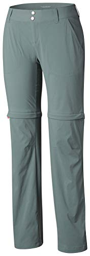 Columbia Women's Saturday Trail II Convertible Pants, 16 Long, Pond