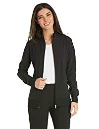 Cherokee Womens Iflex Zip Front Warm-up Jacket Medical Scrubs Jacket