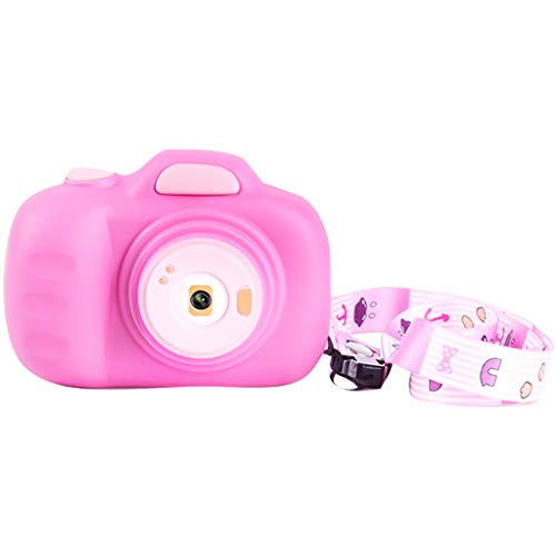 Children Digital Cameras Mini Camcorder with 12MP HD Video Lens Great for Shooting Gift Kids Camera Toys for Girls (Pink)