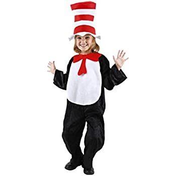 Dr. Seuss Cat in the Hat Toddler Costume (2T-4T) by elope