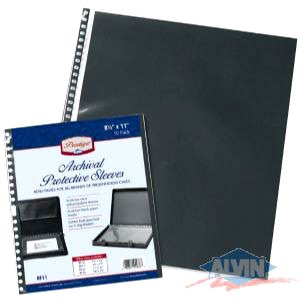 Prestige Presentation Case Refill Pages- 17x22 Inch 5-Pack by Alvin