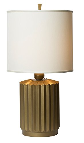 Thumprints 1203-ASL-2136 Starburst Brushed Gold Table Lamp, Gold Matte Finish