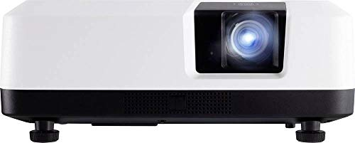 ViewSonic LS700-4K 4K UHD Laser Projector with 3300 Lumens 3D HDR Content Support and Dual HDMI for Home Theater