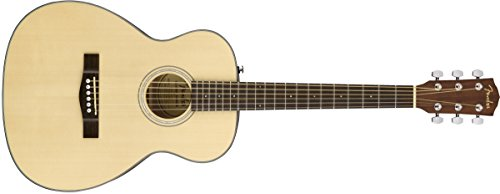 Fender CT-60S Acoustic Guitar - Travel Body Style - Natural Finish