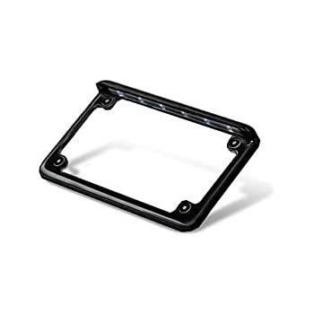 WD Electronics LED Motorcycle Licence Plate Frame - Black Powder Coat - Horizontal Mount  sc 1 st  Amazon.com & Amazon.com: WD Electronics LED Motorcycle Licence Plate Frame ...