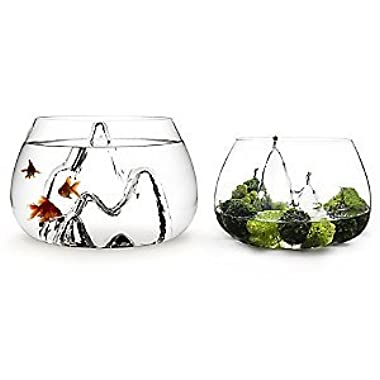 Aruliden Glasscape Glass Fish Bowl Large