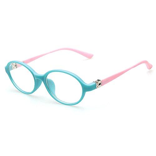 Fantia Ultra-Light myopia Frame Oval Kids eyeglass Non-Prescription Lenses For Boy and Girl - Glasses Frames Girl