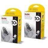 Kodak 10B lot de 2 cartouches d'encre noire
