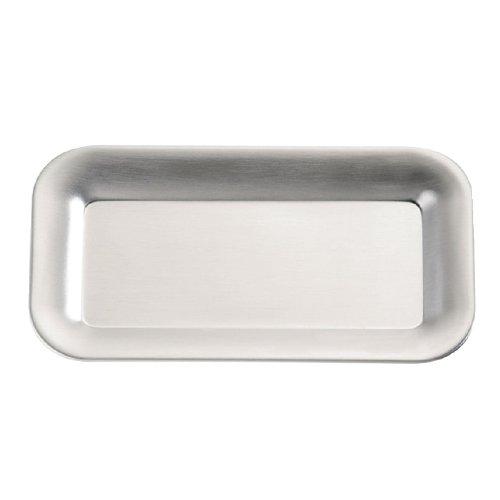 APS puro acero inoxidable bandejas para 2 x tazones de ...