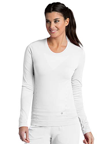 Barco One 5305 Long Sleeve Crew Neck Tee White XS/S