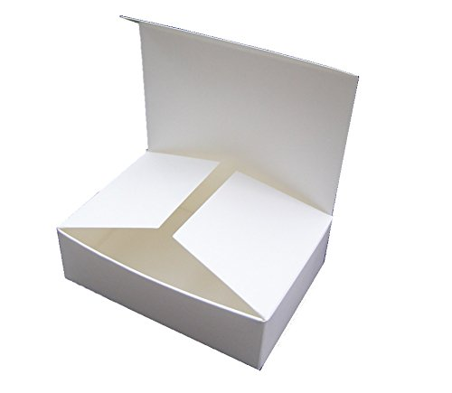 25 X Small White Self Assembly Gift Boxes Code G Perfect For Mini