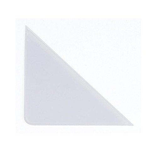 PackZen Clear Vinyl Calendar Corner Protector - Case of 2700 by PackZen