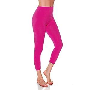 7037d788b1b Emmalise Women s Active Clothing Capri Seamless Legging - Regular ...