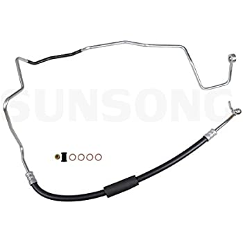 Sunsong 3402425 Power Steering Pressure Hose Assembly Toyota