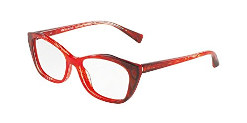 0135a12e3d807 Lunettes de Vue Alain Mikli 0A03060 RED BLACK femme ...