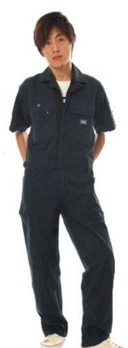 Dickies (ディッキーズ) 半袖つなぎ 綿100% Dickies-TK712 B008H1TEEW 3L|ネイビーブルー