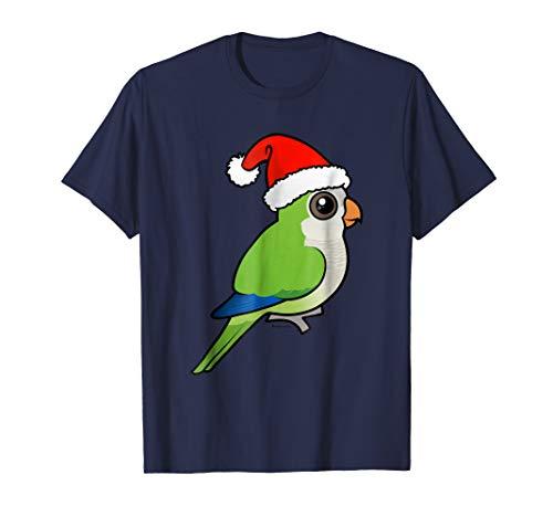Monk Parakeet - Cute Monk Parakeet Plays Santa Claus