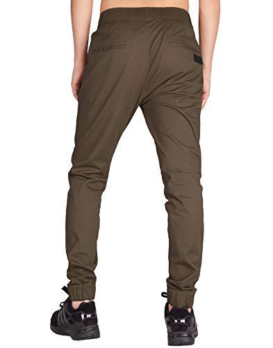 Morn Italie Pantalon de Chino Pantalon Slim de hommes Pantalon jogging Coffee jogging Italie pour Fit décontracté rCtshdQ