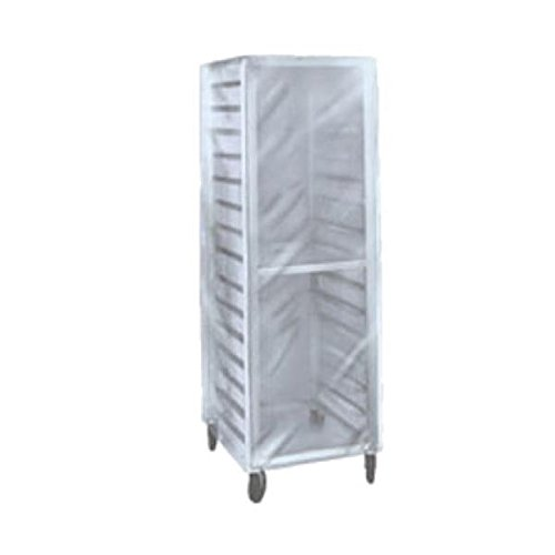 (112483) Rack Cover, Bakery, Heavy Duty, Clear Plastic Cover W/3 by Winholt Equipment