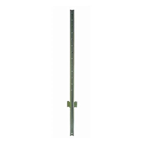 4' Fence Post - Mazel Light Duty U-Post - Set of 10 - Choose Lenght (5')